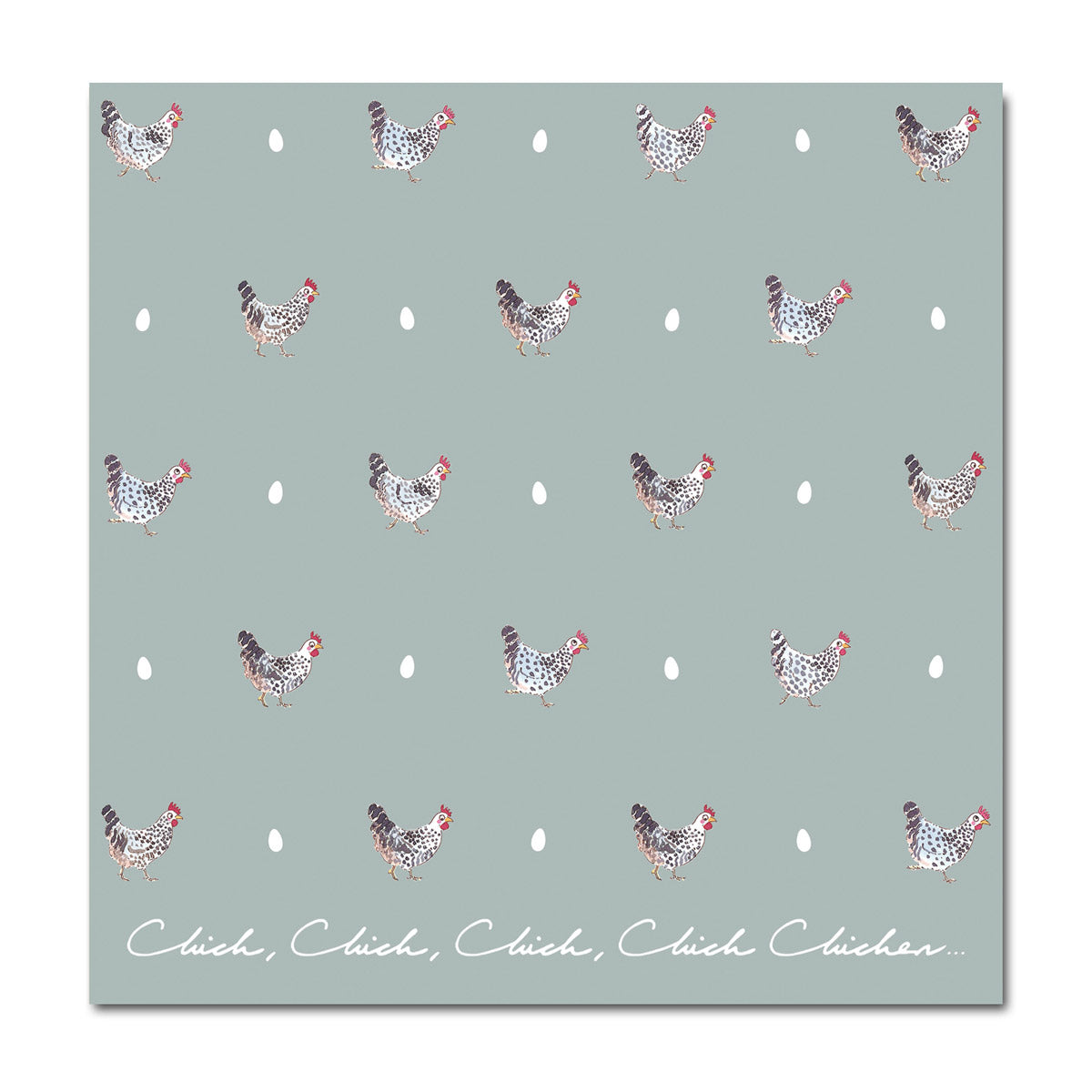 Chicken & Egg Greeting Card