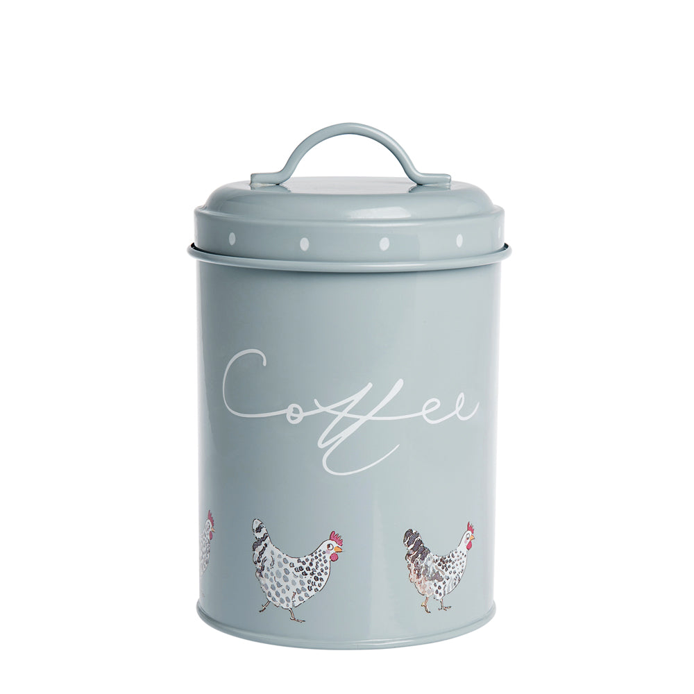 Chicken Coffee Storage Tin