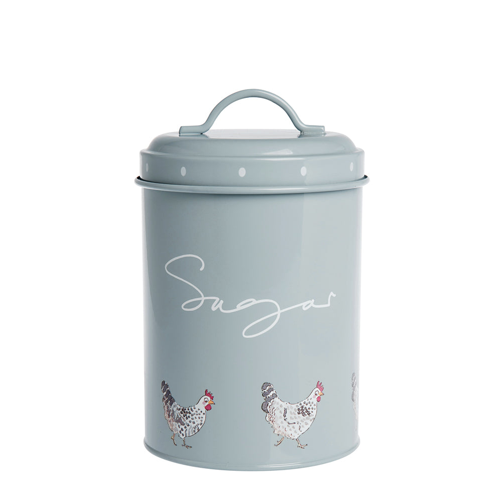 Chicken Sugar Storage Tin