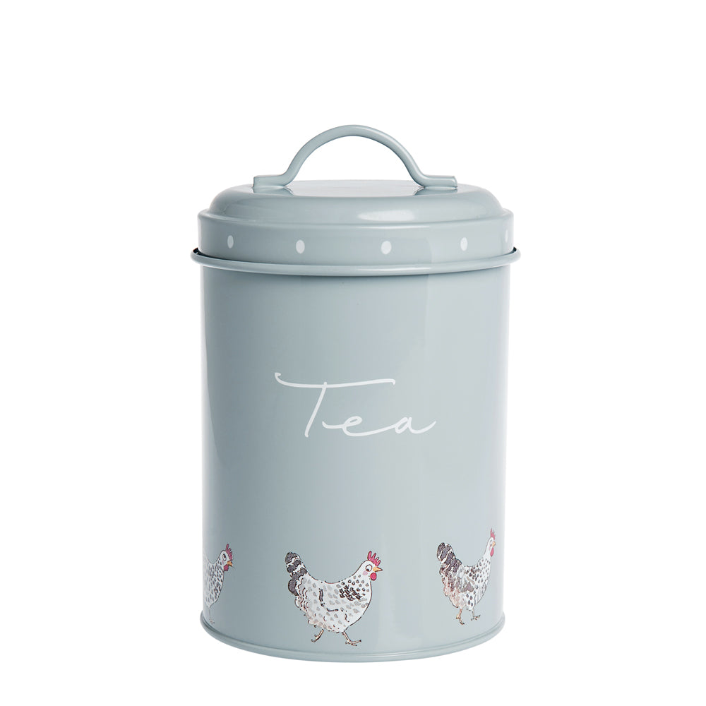 Chicken Tea Storage Tin