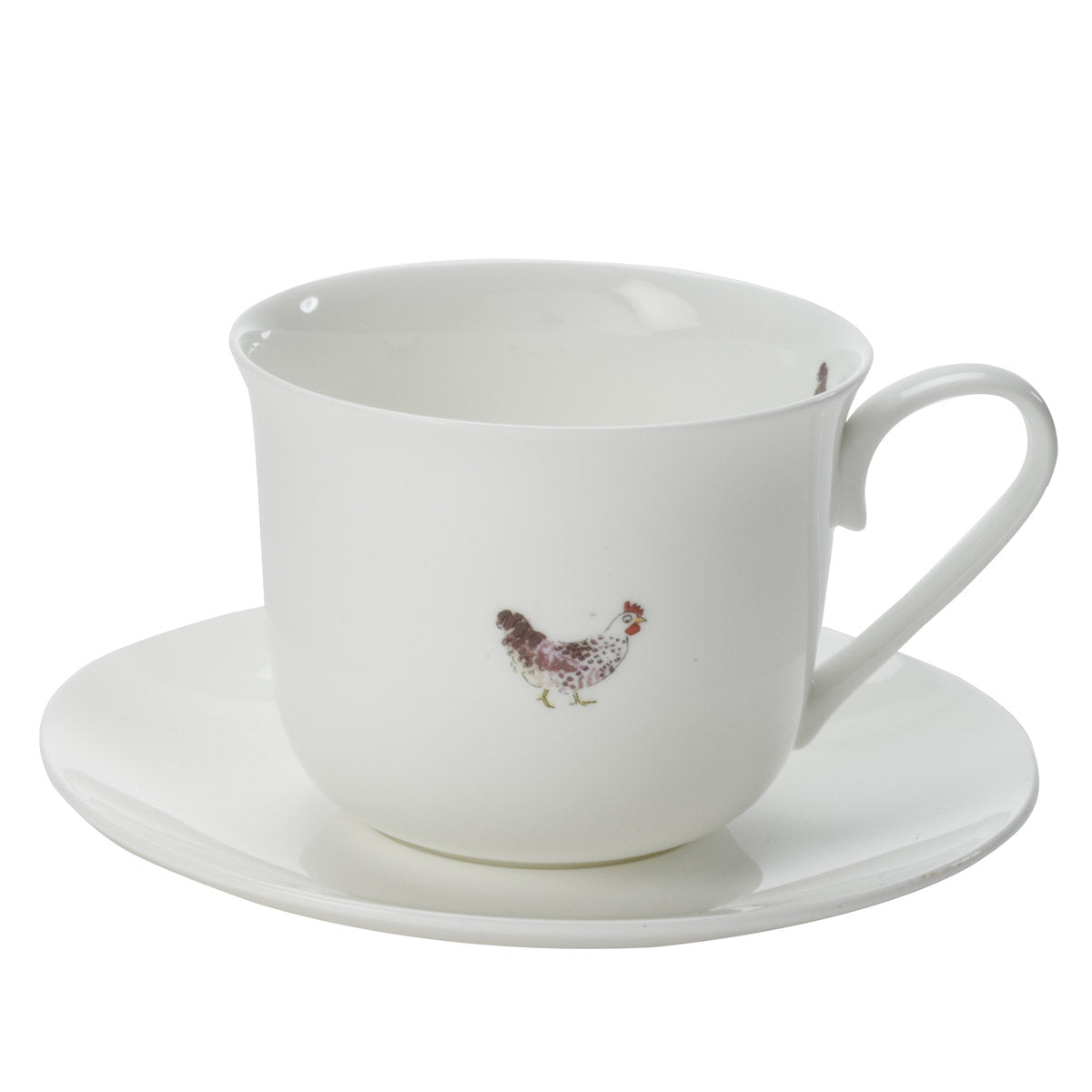 Chicken Teacup & Saucer