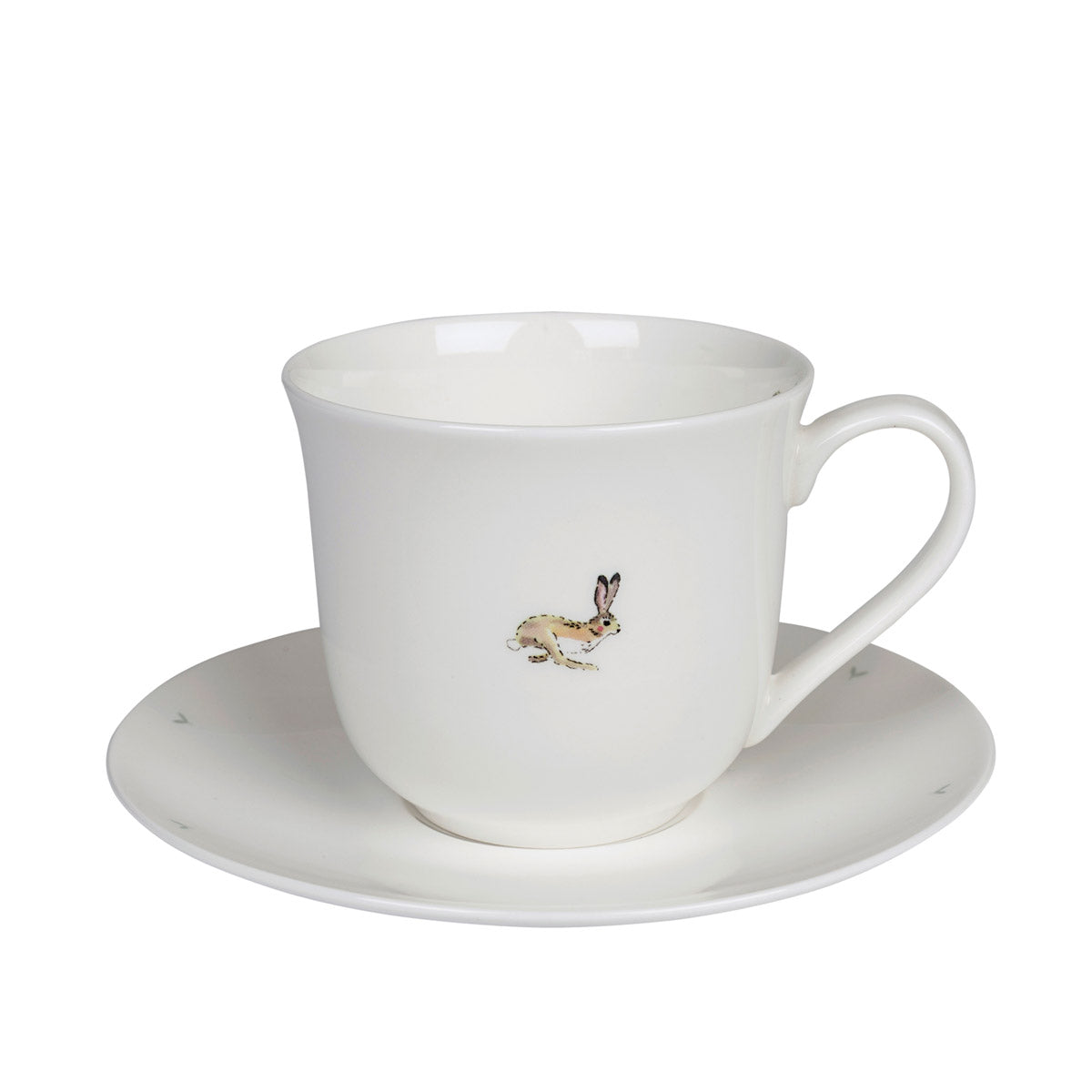 Hare Teacup and Saucer