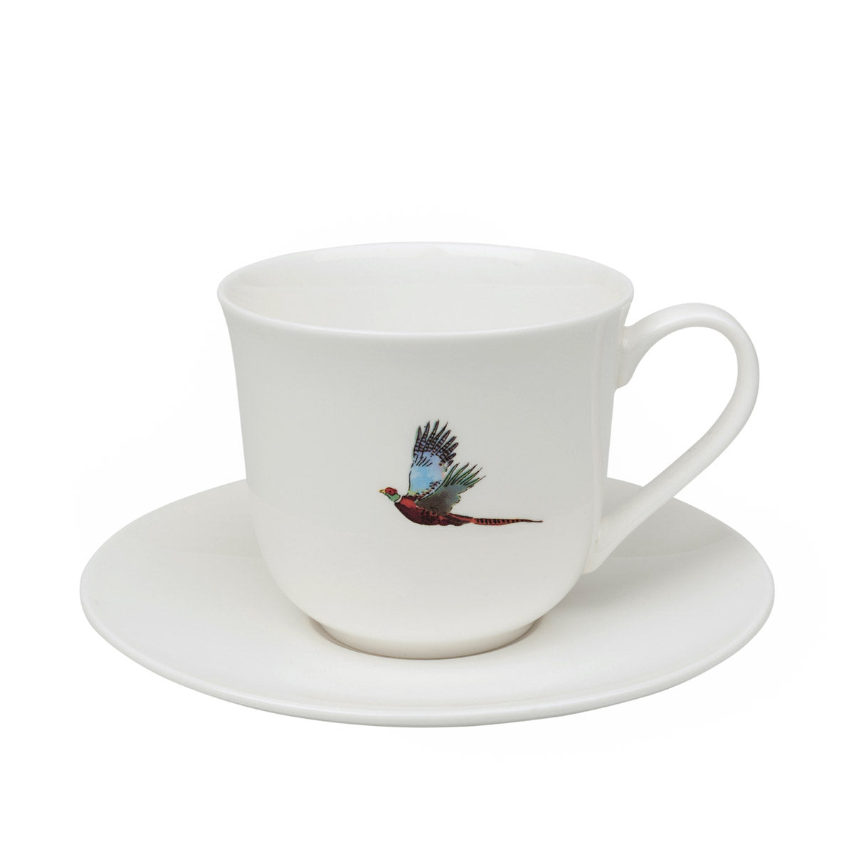 Pheasant Teacup and Saucer