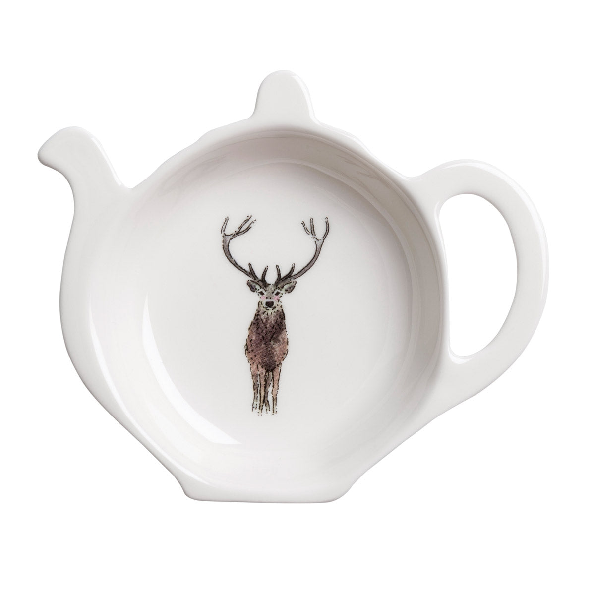 Highland Stag Tea Bag Tidy