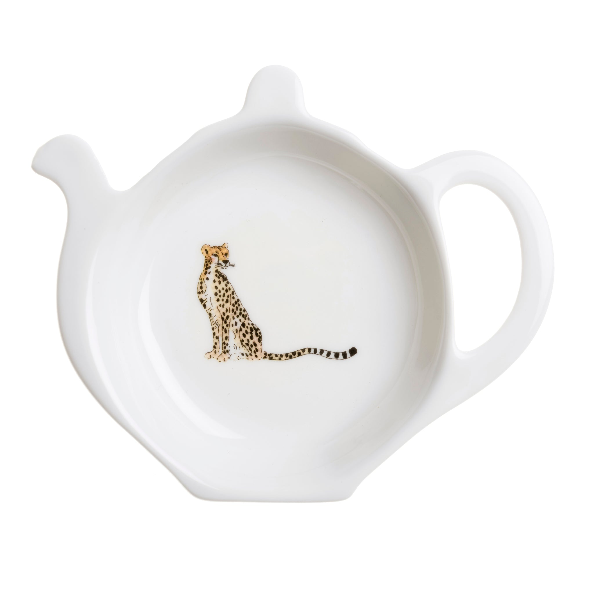 Cheetah Tea Bag Tidy