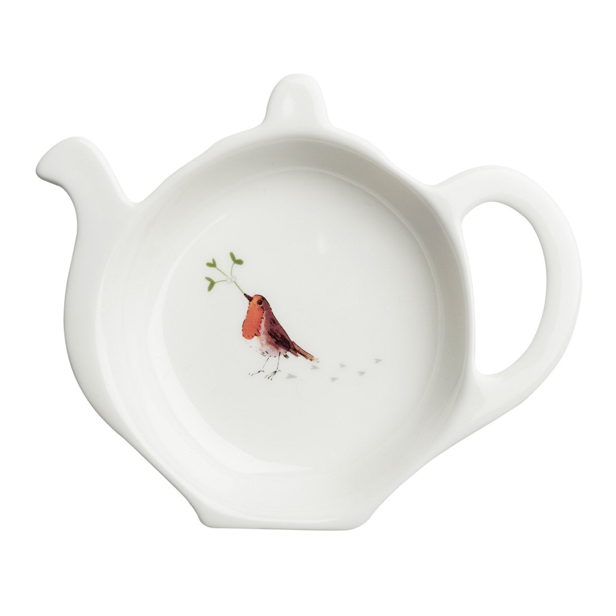 Robin & Mistletoe Tea Bag Tidy