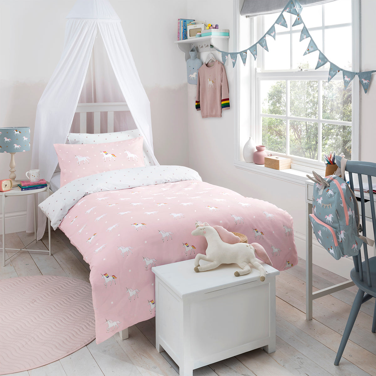 Unicorn Bedding Set by Sophie Allport