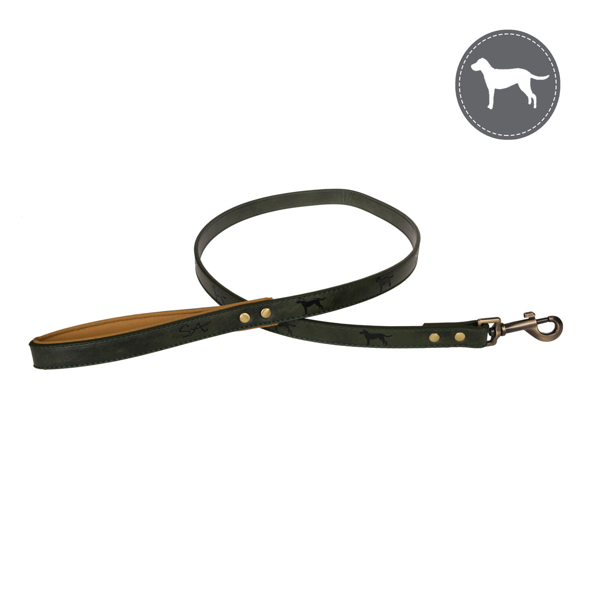 Forest Green Dog Lead
