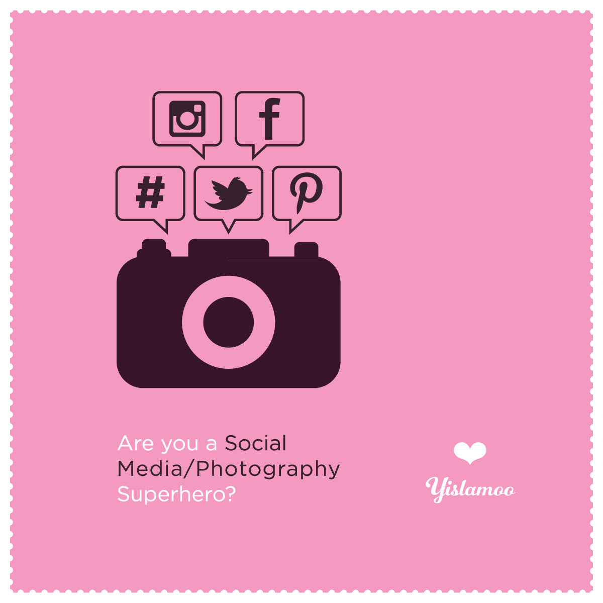 Yislamoo | Are you a  social media/photography superhero?