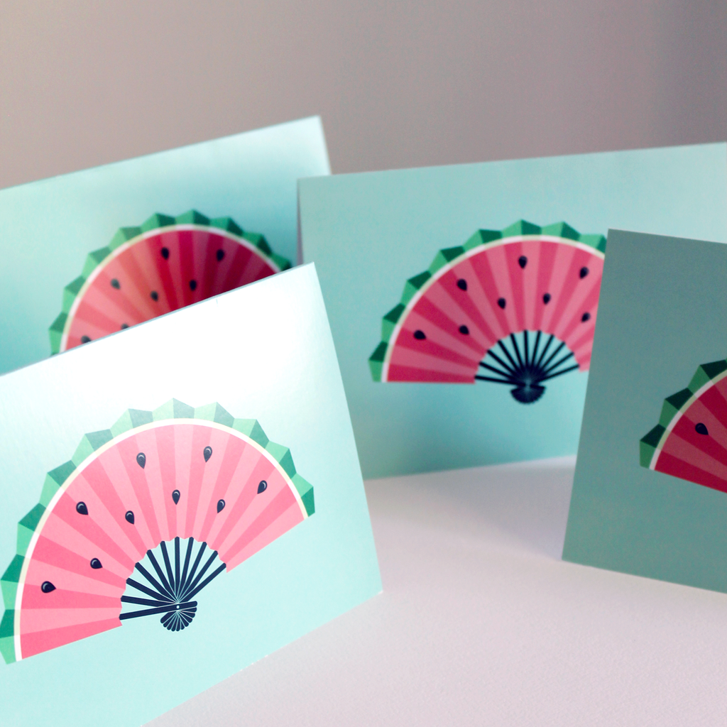 Yislamoo | Watermelon Fan Card