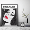 Wall Art,Funny Posters,Vintage Posters,Modern Art Prints