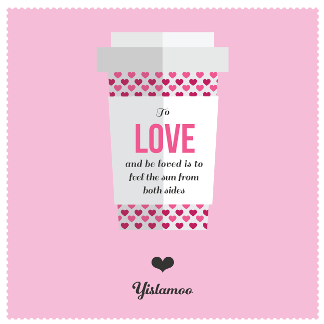 Yislamoo | To Love & be Loved ecard for Valentine's Day