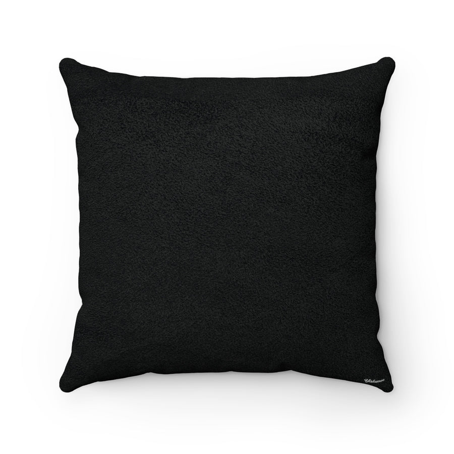 Black Throw Pillows, Arabic Alphabet Cushion Covers, Yislamoo
