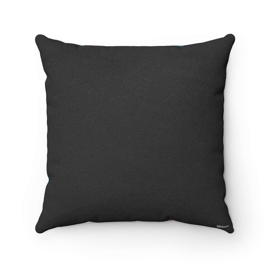 The Bedouinista Faux Suede Square Pillow Case
