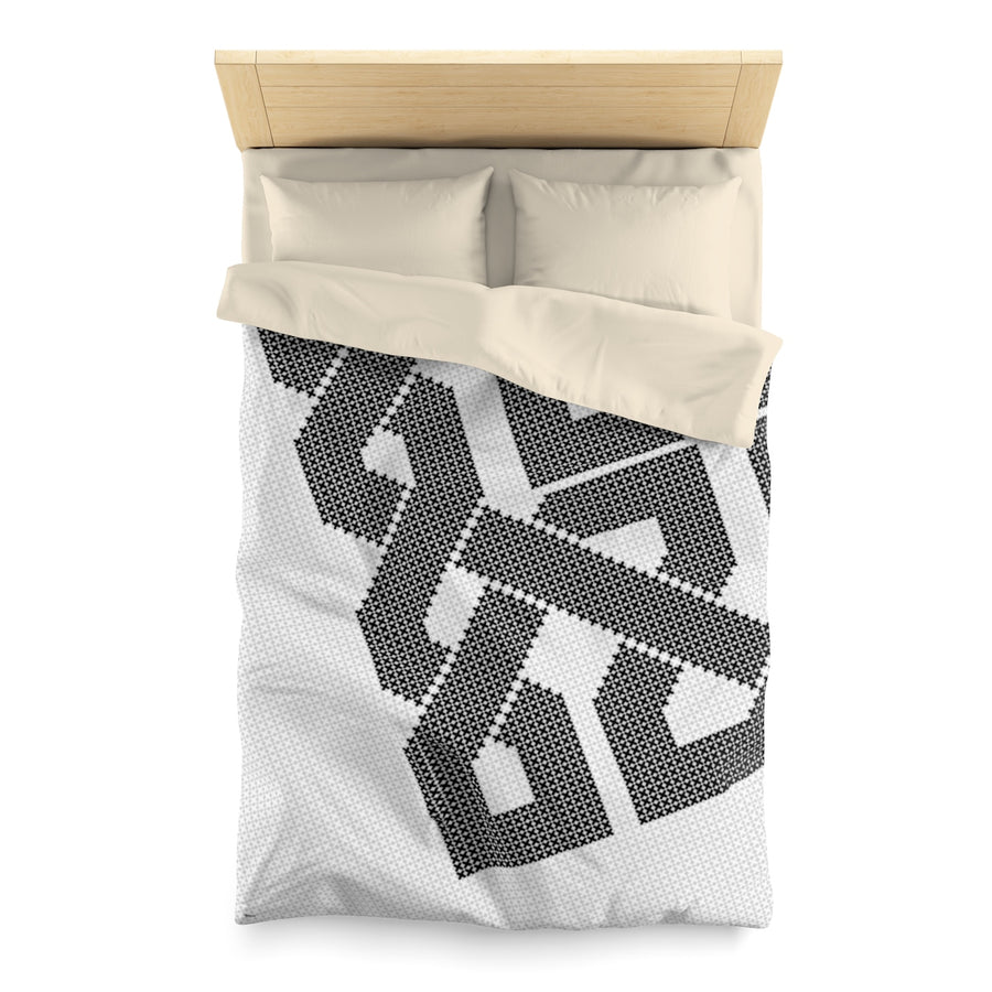 Black & White Duvet Cover | Islamic Pattern Duvet Covers | Yislamoo