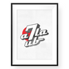 7up Arabizi Wall Art Print Black Frame | Yislamoo