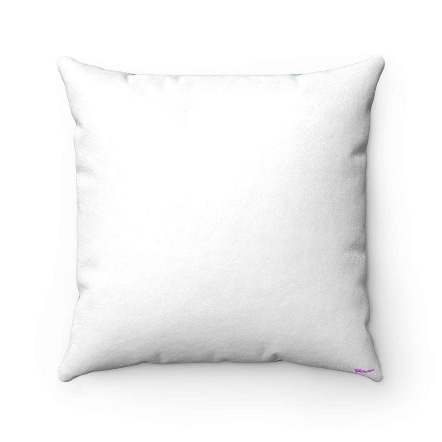 The Sheikh Faux Suede Square Pillow Case