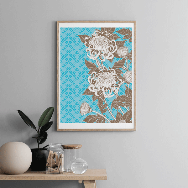 Floral Wall Art No 1