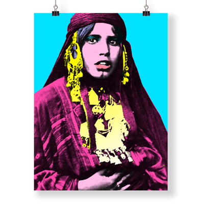 Modern Poster Art,Pop Art Posters,Arabic Art,Wall Art,The Bedouinista,Yislamoo