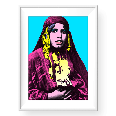 Wall Art, Home Decor, Beauty Print,Bedouinsta,Yislamoo