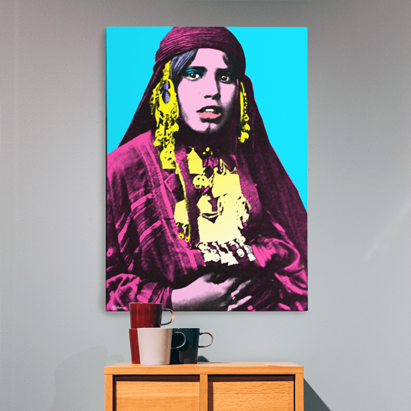 Arabian Art | The Bedouinista Wall Art Print | Yislamoo
