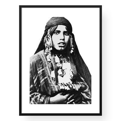 The Bedouinista Wall Art Print
