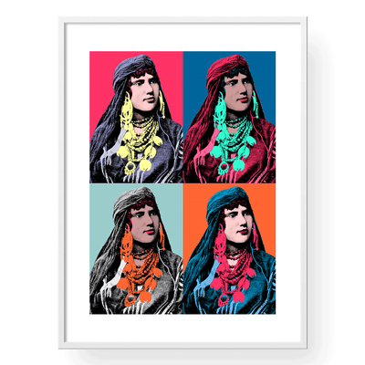 Pop Art Prints, Vintage Posters, Arabic Art,Yislamoo
