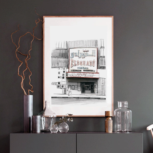 Vintage City Art, Canvas Wall Art,Vintage Canvas Art,City Illustrations on Canvas