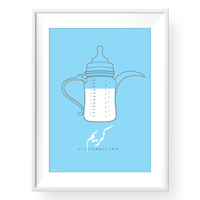nursery wall art,Blue Nursery Wall Decor,Baby Boy Gifts,Yislamoo