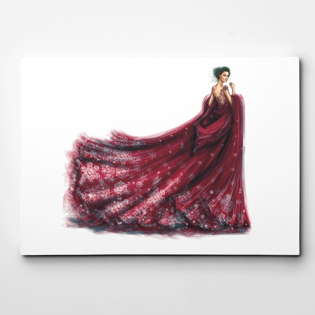 Woman Art Print,Wall art for Living Room,Fashion Poster,Fashion Illustration,Fashion Wall Art