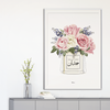 Mr. & Mrs. Framed Print