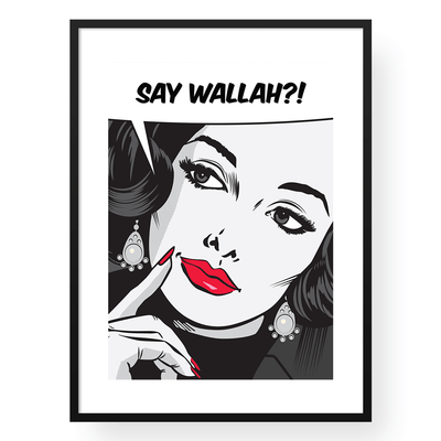 Framed Art Print,Black And White Wall Art,Vintage Wall Art,Yislamoo
