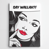 Vintage Canvas Art,Canvas Wall art,Say Wallah,Yislamoo