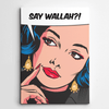 Canvas Art, Vintage Canvas Art, Pop Art,Say Wallah, Yislamoo