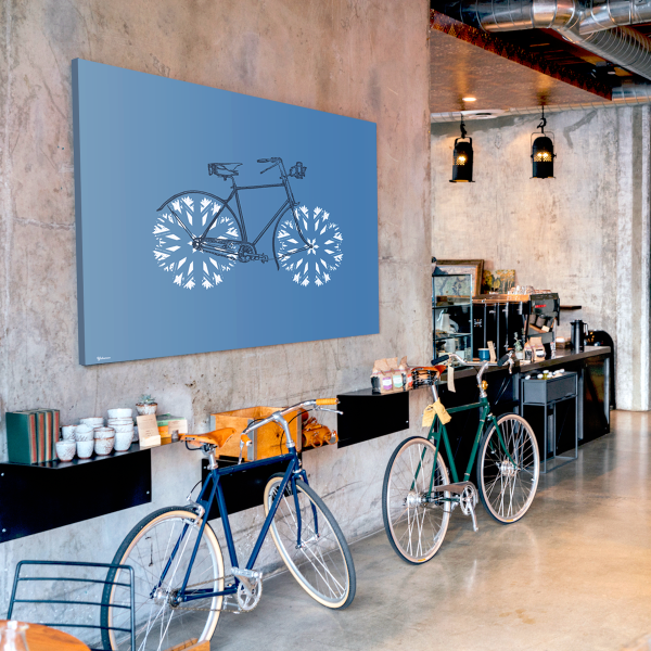 bicycle wall art,Art for living room,art for office,Yislamoo