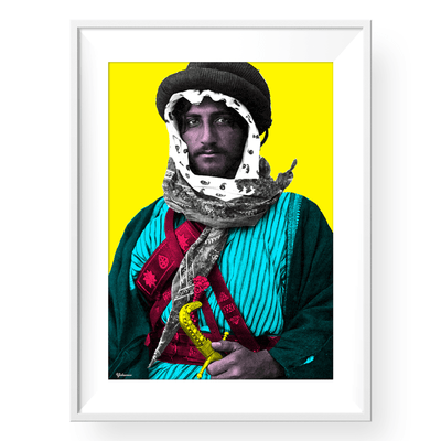pop art frame,pop art posters,pop art for sale,Arabian Art,Yislamoo