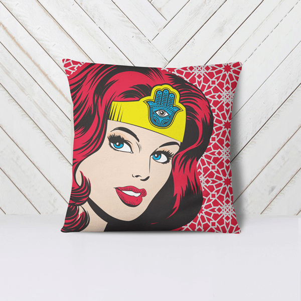 Women Superhero Pillow Case