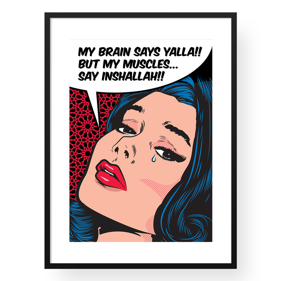 Canvas Art,Canvas Wall Art, Pop art canvas, Canvas art print,Yislamoo