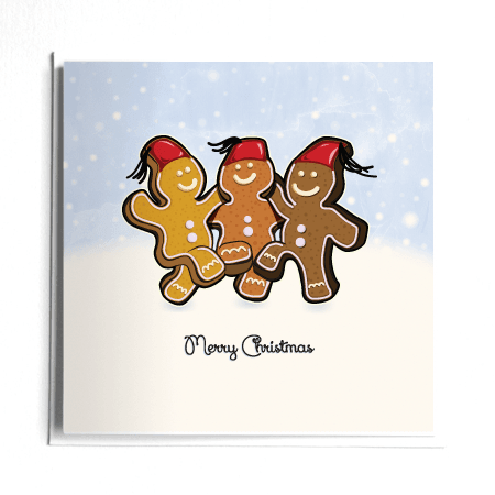 Dabke Gingerbread Men English