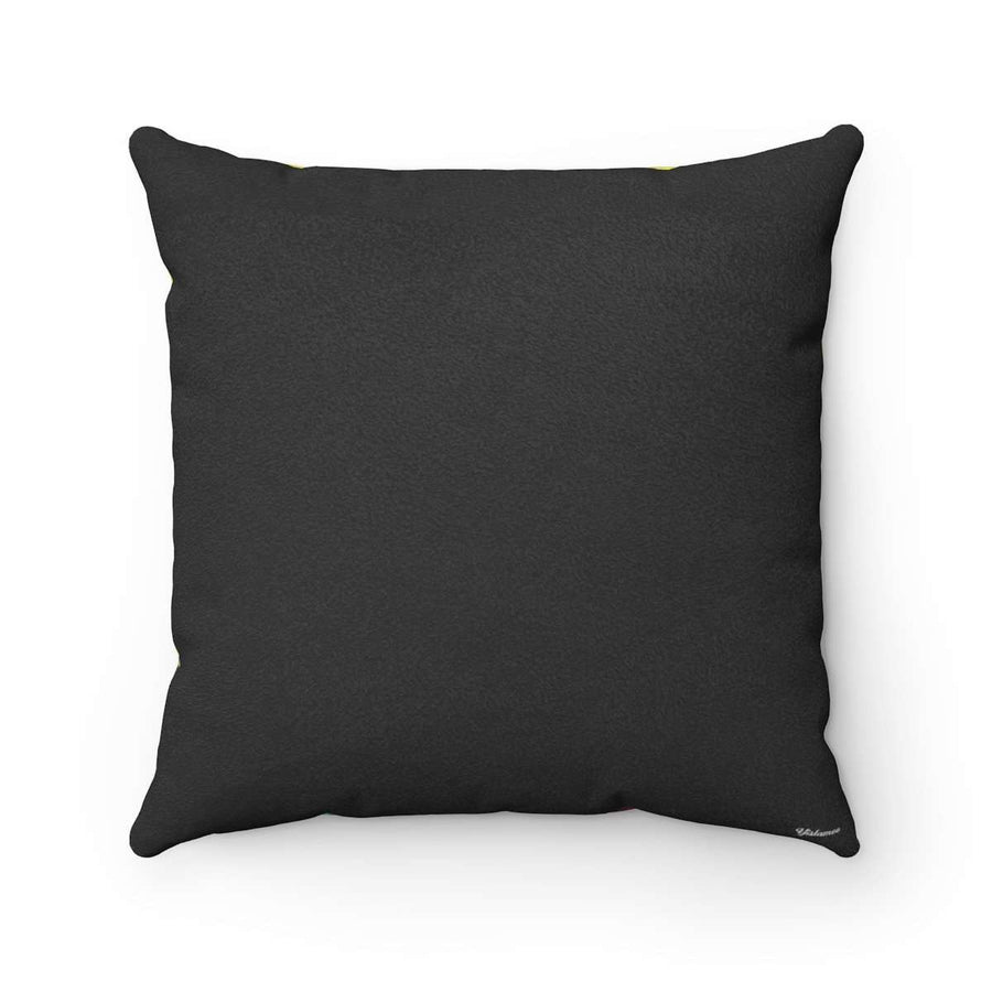 The Bedouin Faux Suede Square Pillow Case