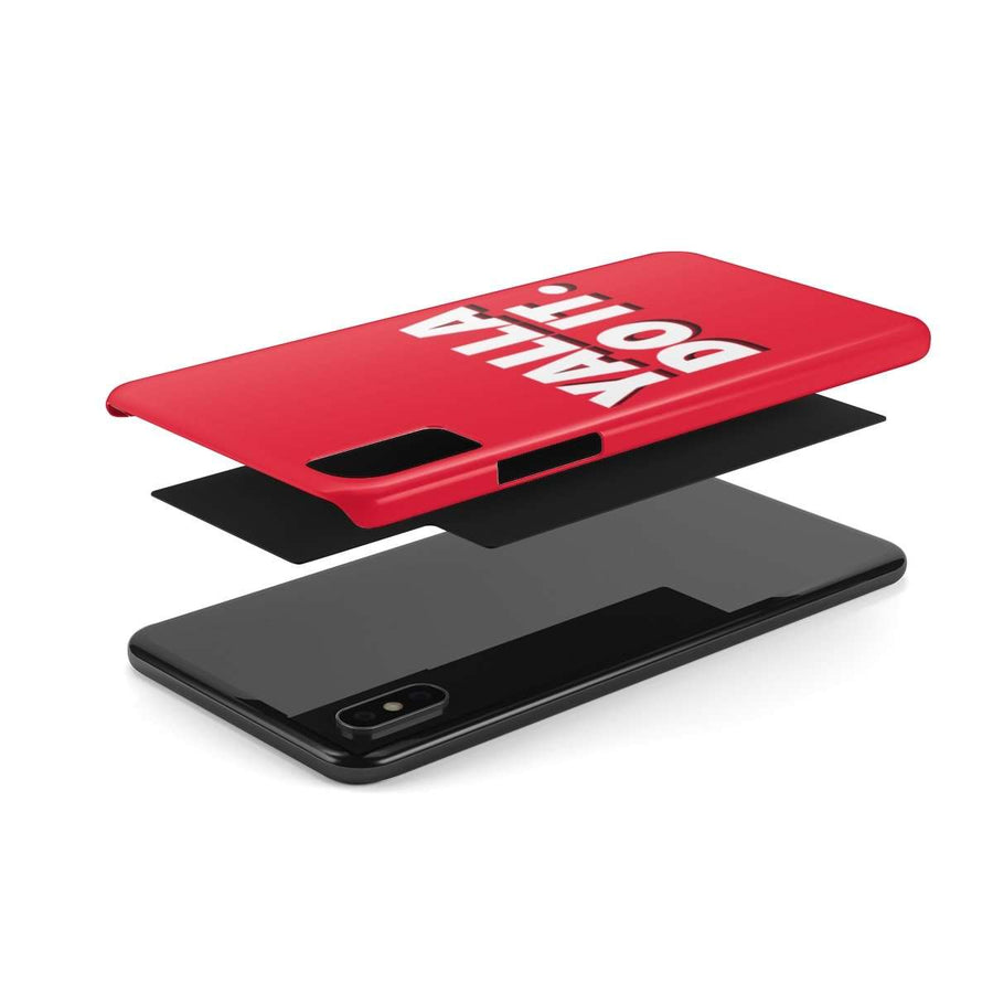 Yalla Do it Red Case Mate Slim Phone Cases