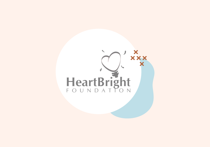 Photo of the HeartBright Foundation logo