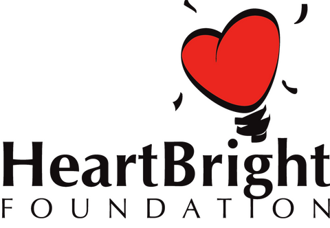 heartbright foundation brand logo