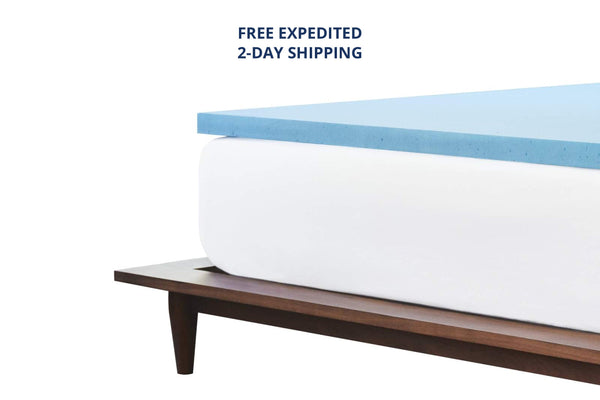 Response Plush Gel Foam Mattress Topper