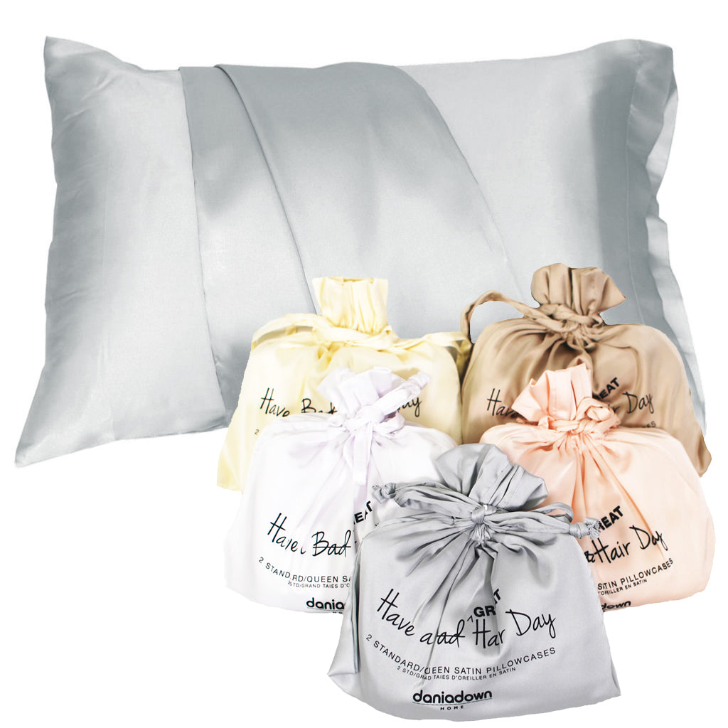 STD/QUEEN Satin Pillowcase - (2PC)