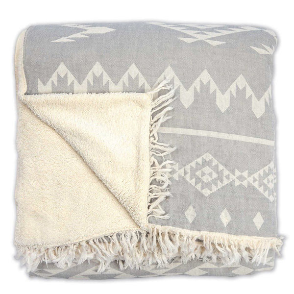 Atlas Fleece-Lined Throw