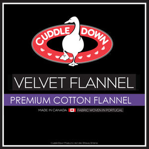 Velvet Flannel-Flat Sheet