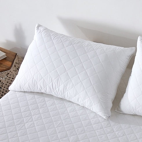 Triple Cotton Pillow Protector