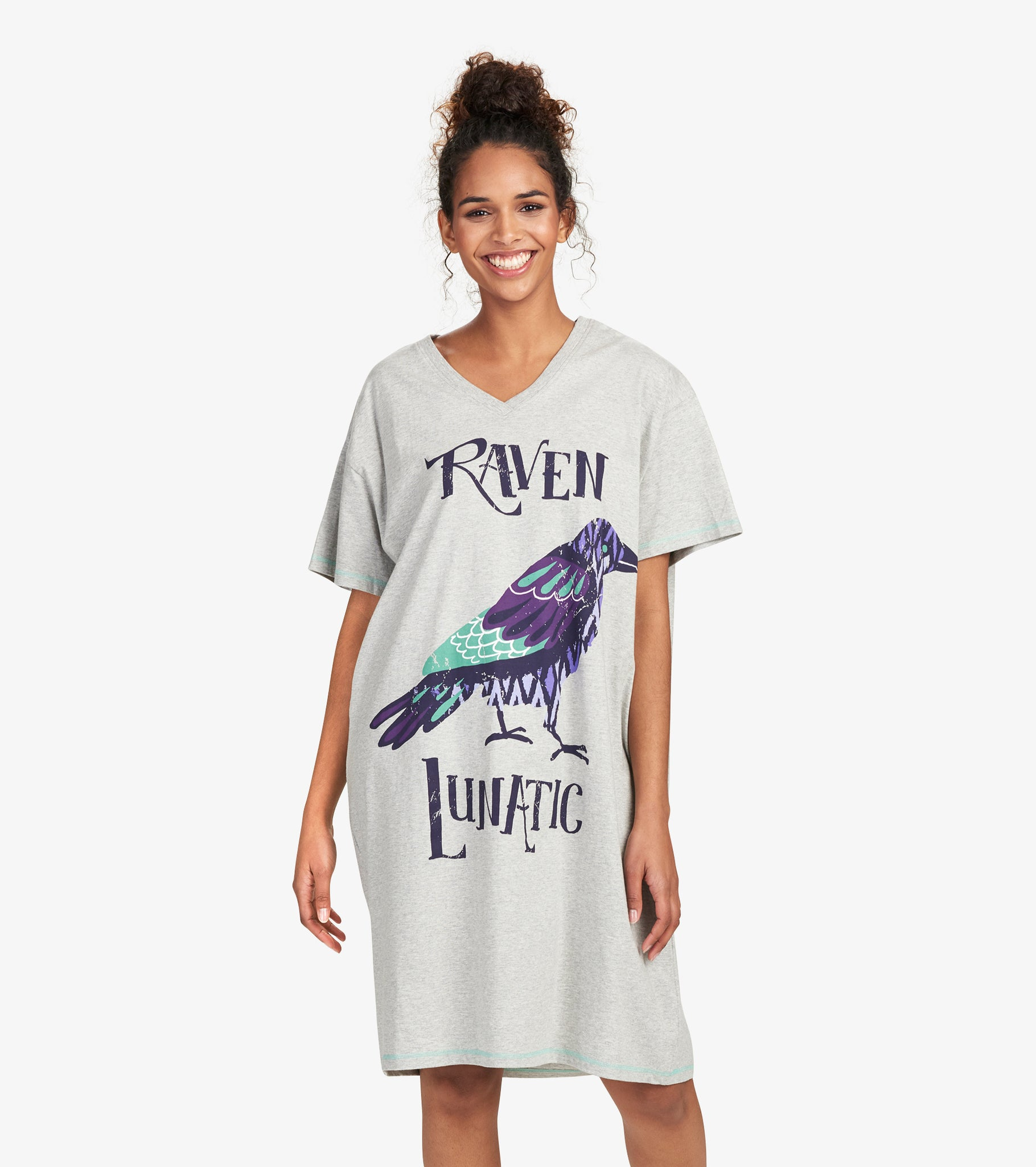 Raven Lunatic Sleepshirt