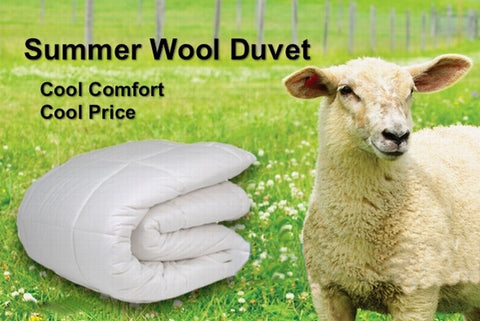 Summer Wool Duvet